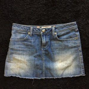 Juicy Couture denim jeans mini skirt Sz. 27 woman